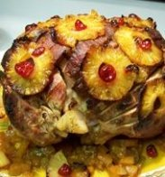 Baked Wild Boar Holiday Ham