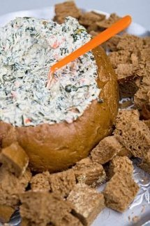 Homemade Spinach Dip Recipe