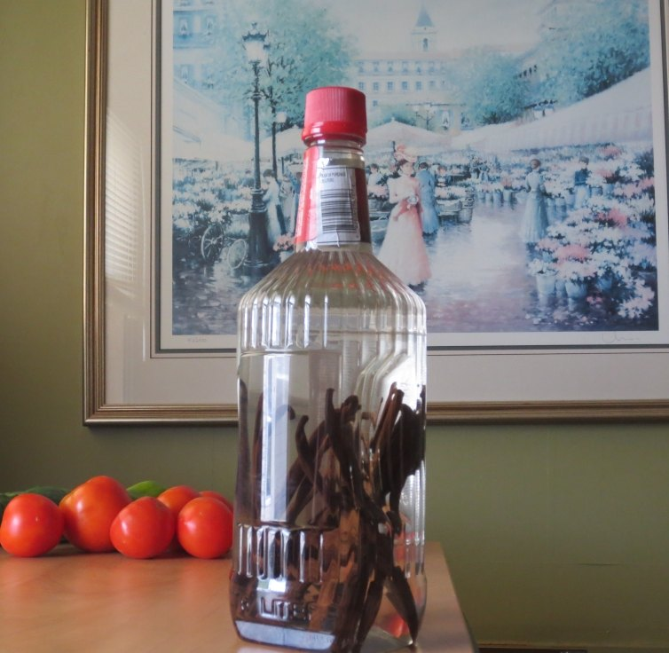 Making Homemade Vanilla Extract from Scratch