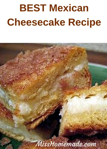 BEST Mexican Cheesecake Recipe