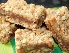 Oatmeal Carmelite Bars Recipe