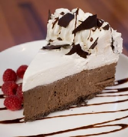 Homemade Chocolate Mousse Pie