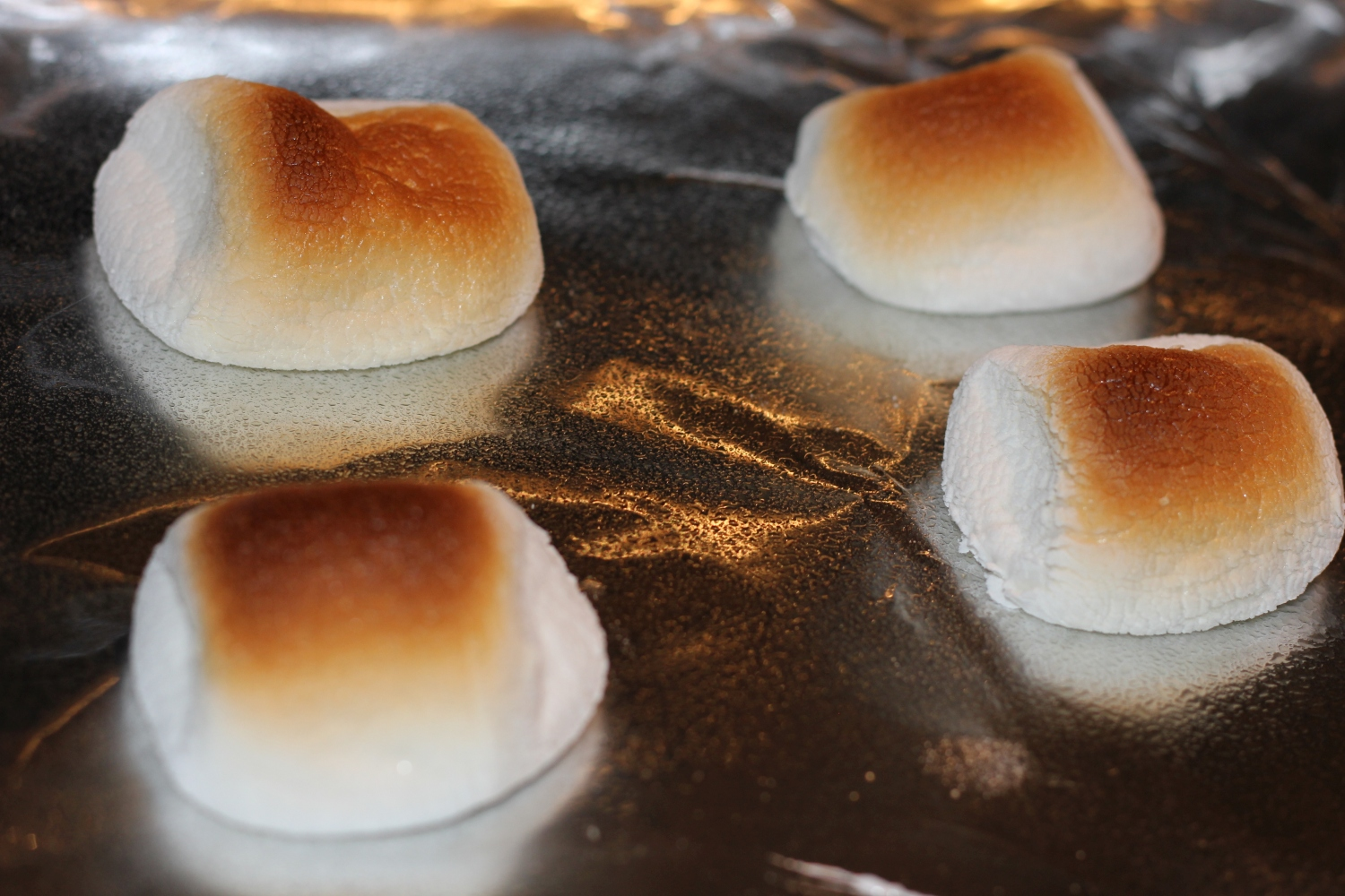 Baked Peanut Butter Smores