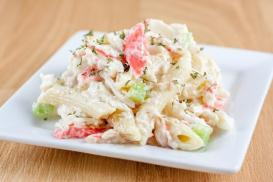 Hawaiian Crab Pasta Salad