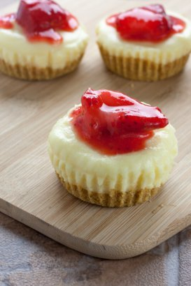 Miniature Cheesecake Recipe