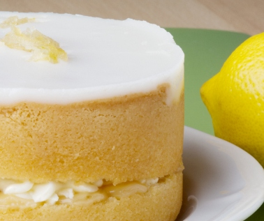 Homemade Lemon Sponge Cake from Scratch