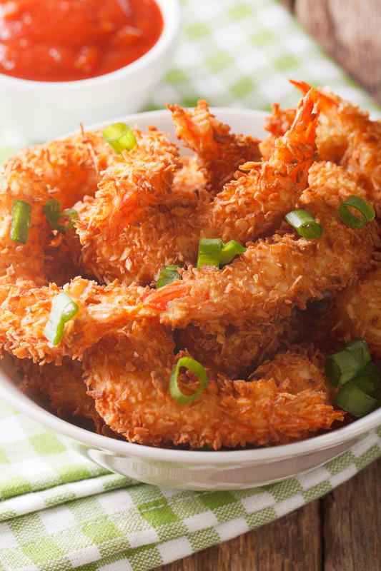 Baked Coconut Shrimp Recipe. A perfect crunchy sweet and savory dish that everyone loves.  You have to make my