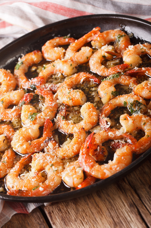 Best Shrimp Scampi Recipe - a beautiful mixture of butter, garlic and love.  A must make. #misshomemade | Thousands of recipes at MissHomemade.com