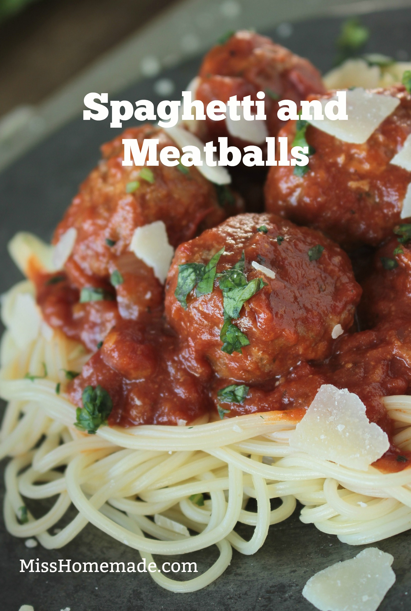 Best Spaghetti and Meatball Recipe from Scratch