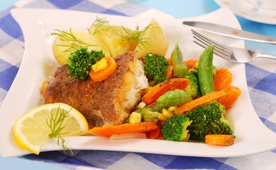 Delicious and moist pan fried halibut #misshomemade