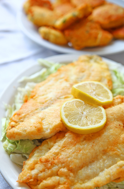 Delicately Breaded and Fried Catfish - the catfish coating is light and seasoned perfectly.  A must try! #misshomemade