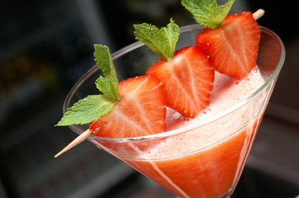 Fresh Strawberry Cocktail Recipes
