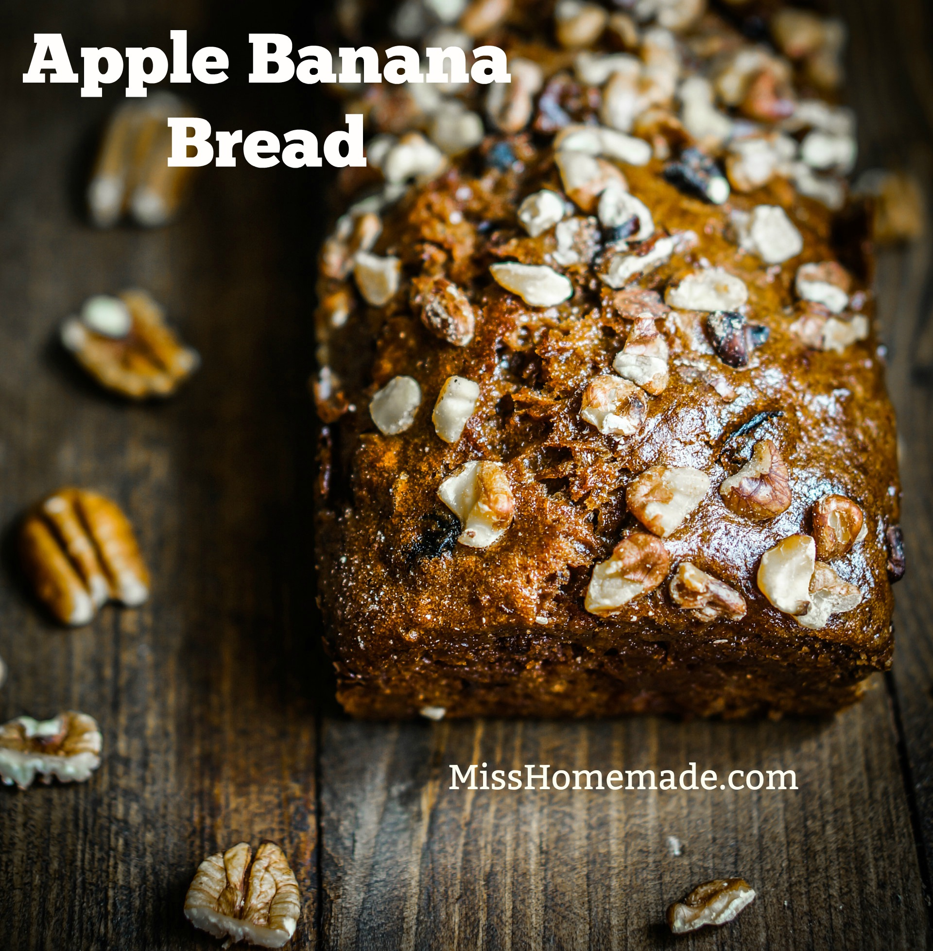 Apple Banana Bread Recipe