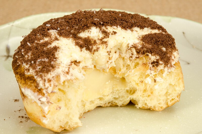 Soft and Pillowy Bavarian Cream Filled Donuts and more... #misshomemade | Thousands of recipes at MissHomemade.com