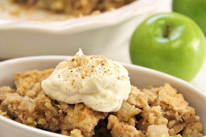 Homemade Apple Crisp Recipe