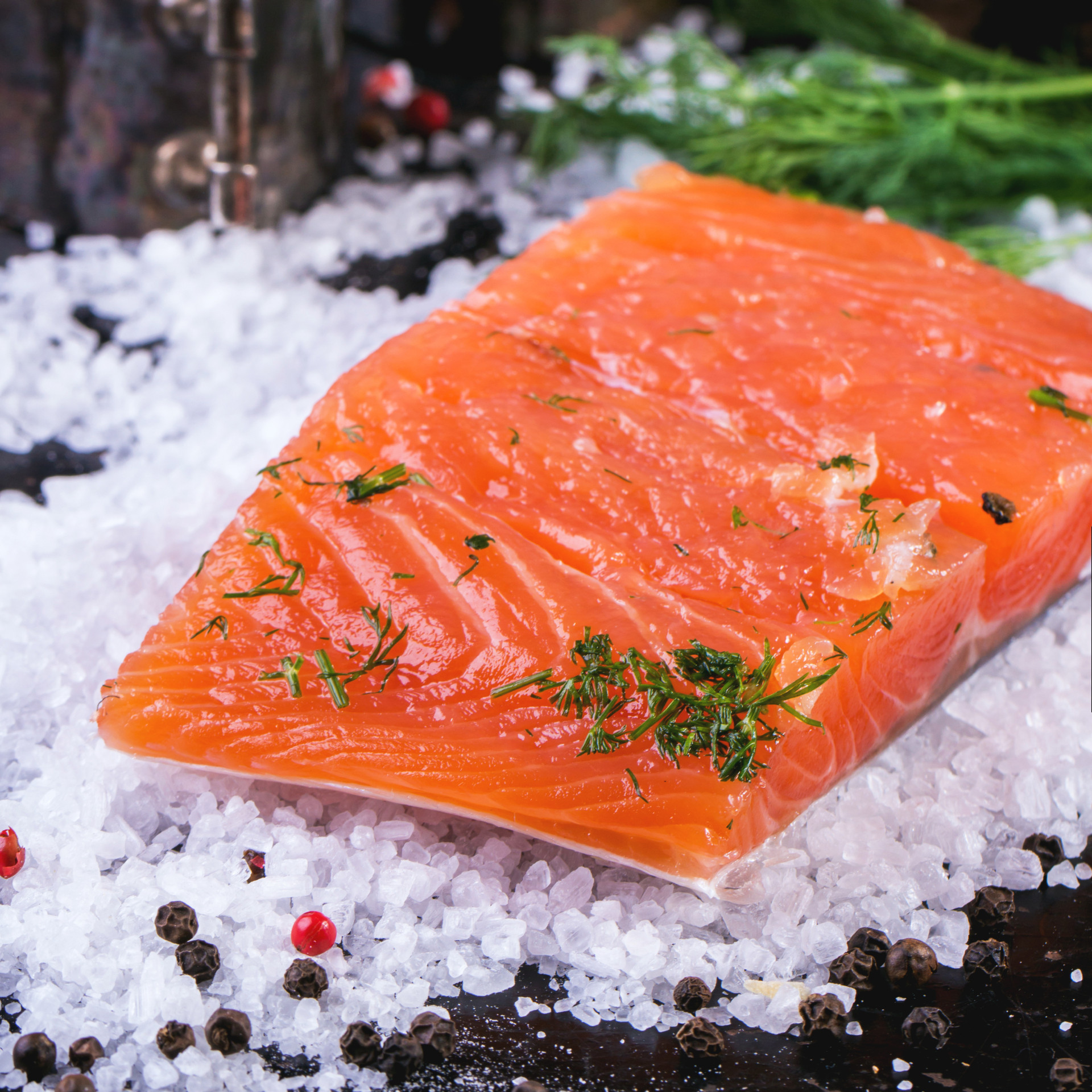 Hot Smoked Fish recipe and it has nothing to do with heat.  Salmon is not fishy tasting and a real treat. #misshomemade | Thousands of scratch recipes at MissHomemade.com