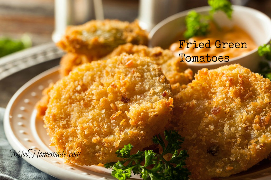 Crispy Fried Green Tomatoes Recipe with Homemade Dipping Sauce