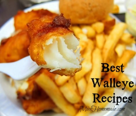 How to Cook Walleye - Crispy, Deep Fried Walleye Recipe