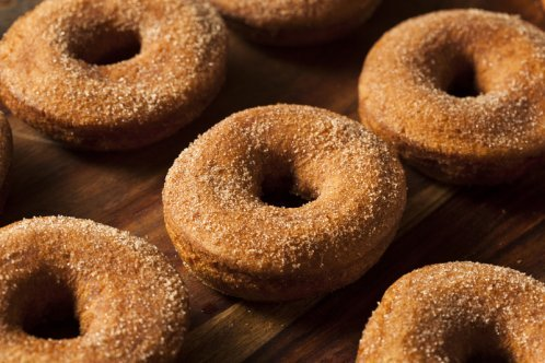 Homemade Cake Donut Recipe