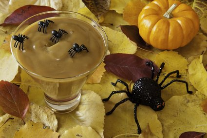 Spider and Butterscotch Pudding