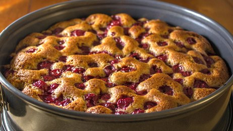 If you have bing cherries you need to make my Cherry Kuchen from scratch #misshomemade | Thousands of scratch recipes at MissHomemade.com