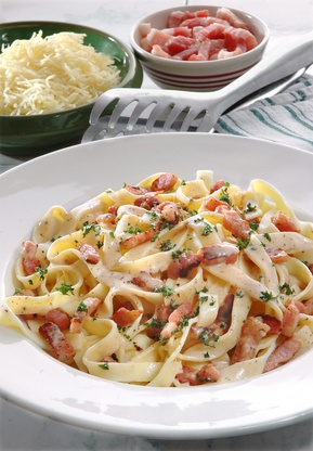 Bacon Carbonara Recipe