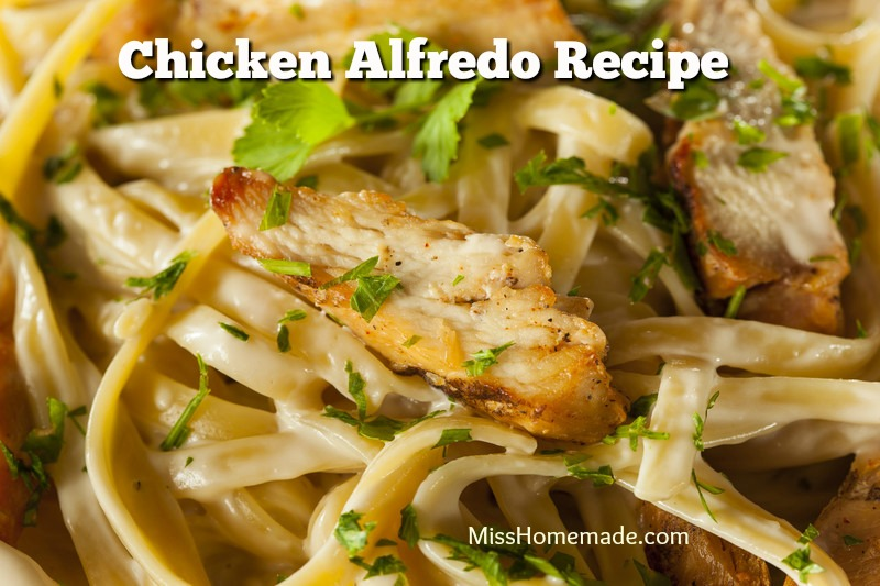 Learn How To Make Chicken Alfredo from Scratch - this is so creamy and rich; it soon will become part of your meal rotation.