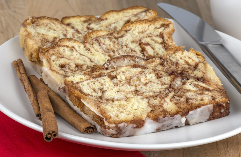 Homemade Cinnamon Bread Recipe