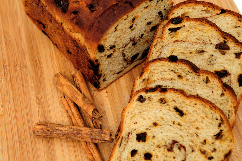 Cinnamon Swirl Raisin Bread Recipe.  Excellent as a grilled almond butter banana sandwich.  See for yourself. #CinnamonSwirlRaisinBread