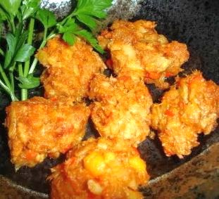 Bluegill Fritters from Scratch