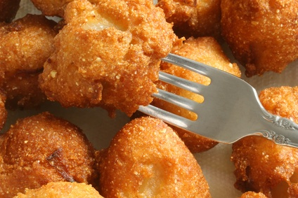 Homemade Hushpuppies