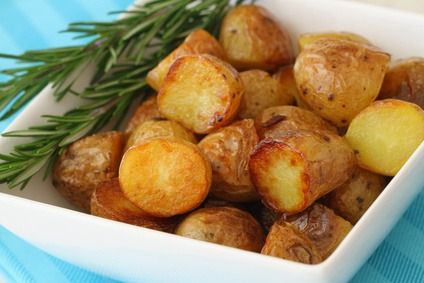 New Potato with Fresh Rosemary