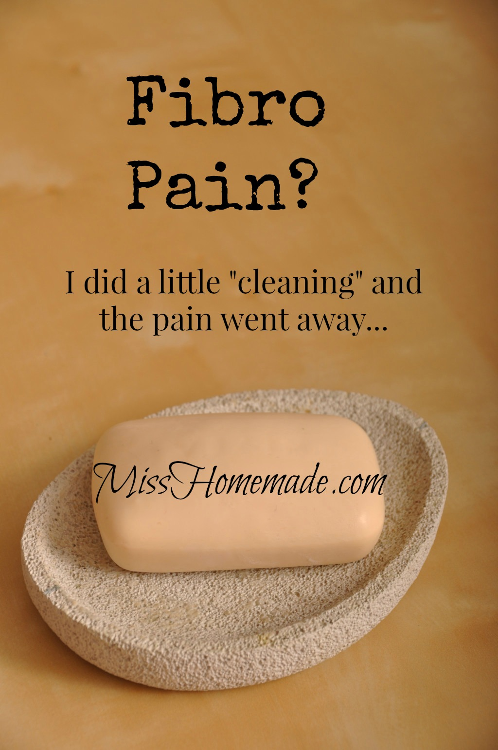 If you have Fibromyalgia pain, you need to try my toxin cleanse - no fasting.