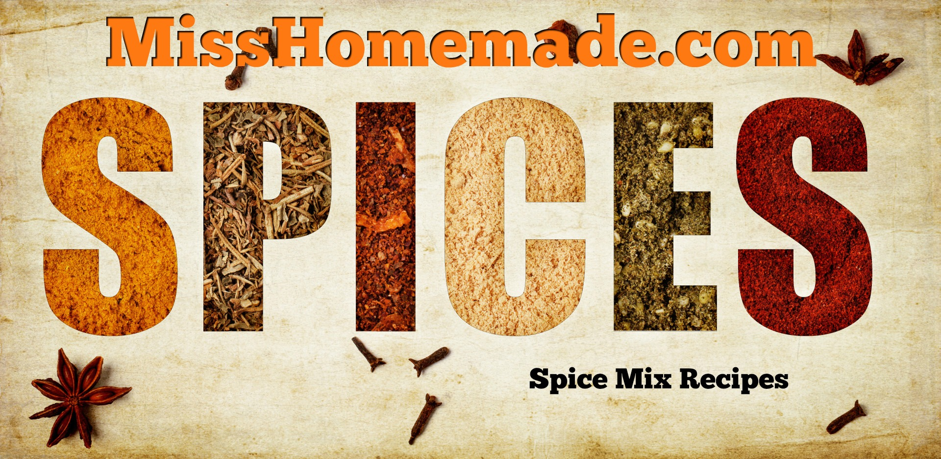 Spice Mix Recipes - make your own pantry seasonings from scratch MissHomemade.com