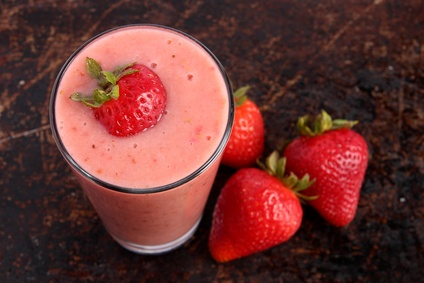 Strawberry Yogurt Smoothie Recipe #StrawberryYogurtSmoothie