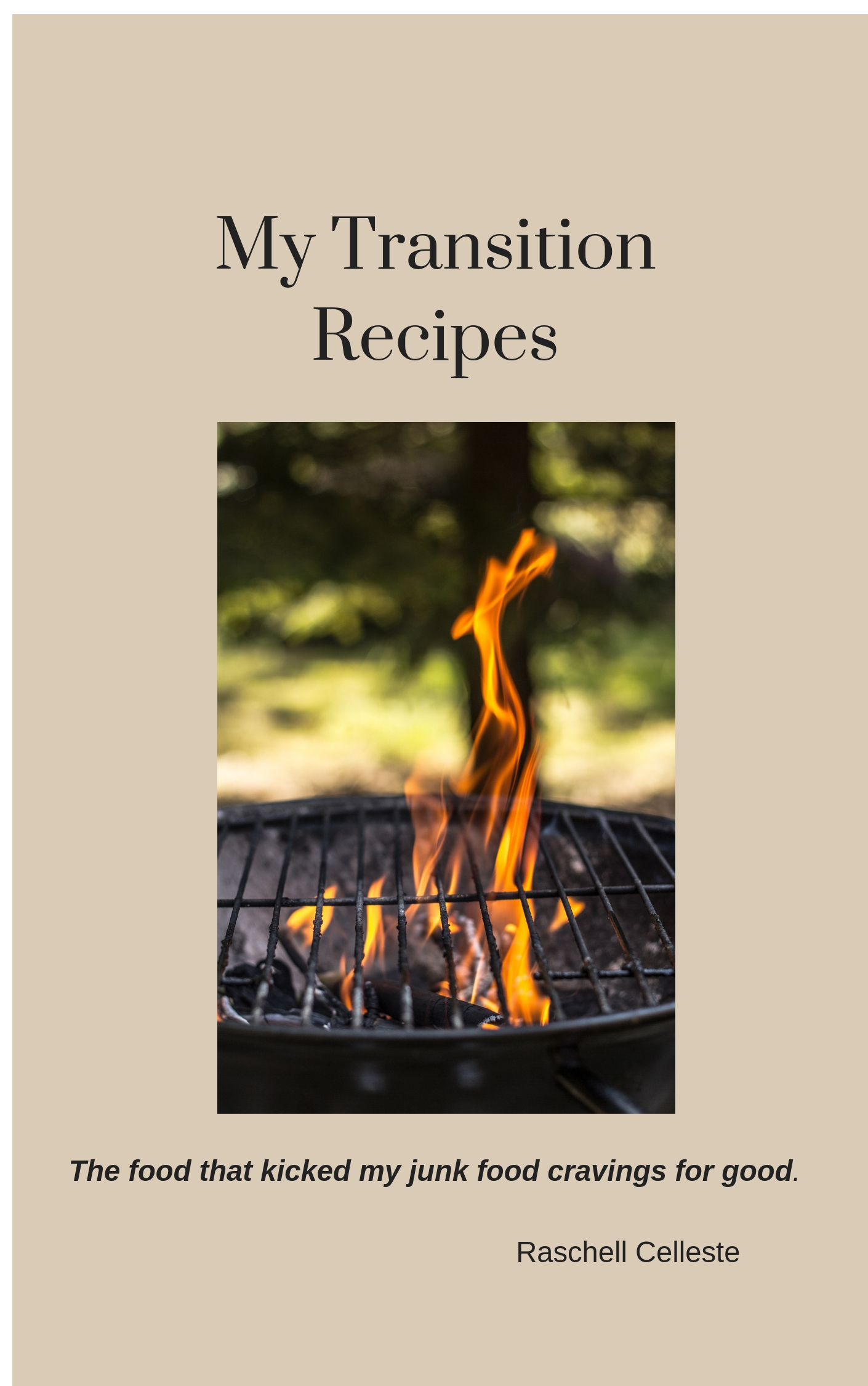 My Transition Recipes - The food I ate that kicked my cravings for good #misshomemade