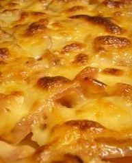 This is the best au gratin potatoes recipe you will ever find. Pinned thousands of times, discover what heaven on a fork tastes like.#misshomemade