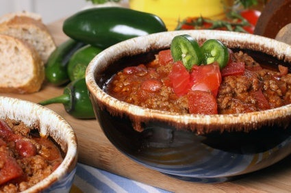 Awesome Chili Recipe using Homemade Chili Powder - this recipe and more at MissHomemade.com