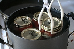 Boiling Bath canning Food