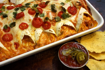 Homemade Chicken Enchilada Recipe