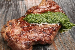This homemade chimichurri sauce is so