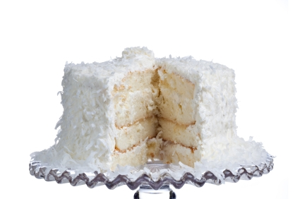Fresh Coconut Cake from Scratch