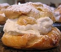 Homemade Cream Puff