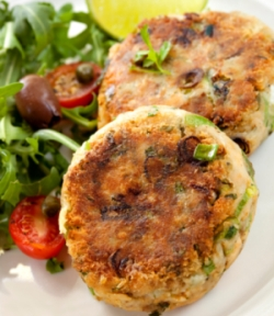 Spicy Salmon Patties Recipe