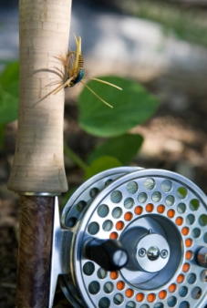 Fly Casting Fishing Reel