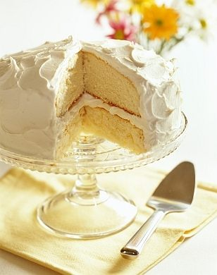 Homemade French Vanilla Cake