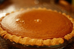Mom's Homemade Pumpkin Pie