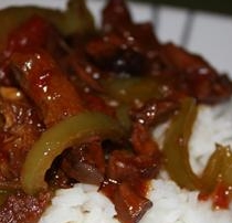 Venison Pepper Steak