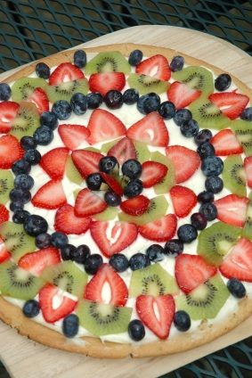 Homemade Fruit Pizza