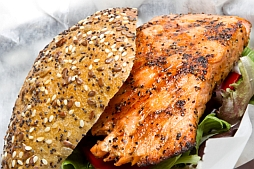 Grilled Salmon Sandwich Recipe